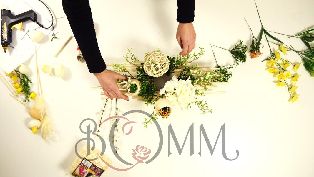 Elegancka dekoracja na Wielkanocny stół