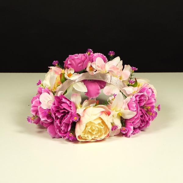 Jak zrobić kwiatowy wianek na głowę na wieczór panieński?