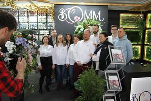 Zobacz więcej o: Bomm na targach Special Days - florystyka i dekoracje