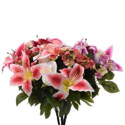 Róża i lilia - bukiet (U513)