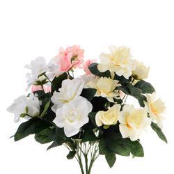 Róża gardenia - bukiet x 9 (U048)