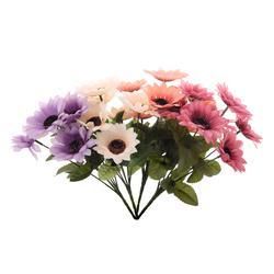 Słoneczniki sztuczne - bukiet 7 kwiatów (U033)