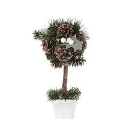 Drzewko z dekoracją w doniczce (XT650)