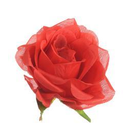 Sztuczna róża w pąku  - główka (W821)