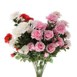 Róża rozwinięta - bukiet x5 (U824)