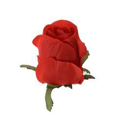Sztuczna róża w pąku - główka (W829)