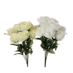 Róża - bukiet x 9 40 cm (U076)