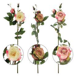 Róża - gałązka kwiatowa 75 cm (GK261)