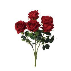 Róża - bukiet welwetowy (U042)