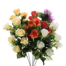 Róża w pąku - gałązka x6 76 cm (GK200)