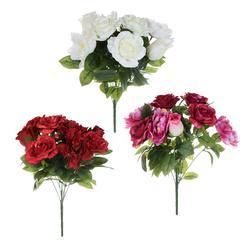 Róża/peonia/róża w pąku - bukiet (U331)