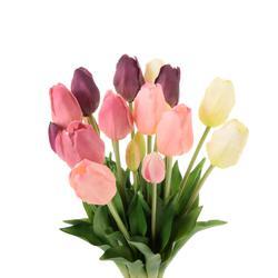 Tulipany francuskie - bukiet gumowy (U262)