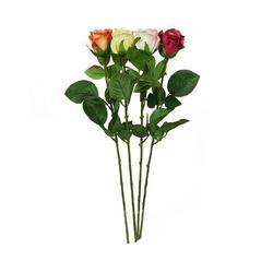Róża w pąku sztuczna - gałązka (K145)