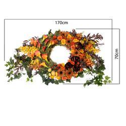 Wianek nagrobny - kompozycja kwiatowa (NNB056)