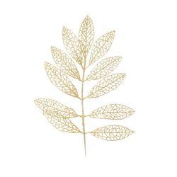 Jarzębina - gałązka brokatowa (XL001)