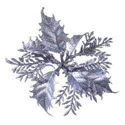 Poinsecja z brokatem - główka (W034X)