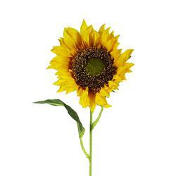 Długi sztuczny słonecznik - gałązka (GK303)