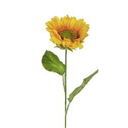 Sztuczny słonecznik satynowy- gałązka (GK300)