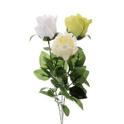 Sztuczna róża w pąku - gałązka (K132)