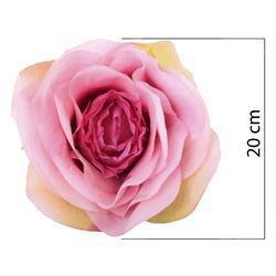 Duża róża - główka 20 cm (W679)