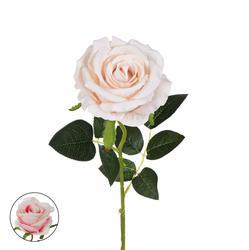 Róża welurowa - gałązka 49 cm (GK013)