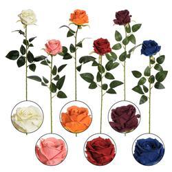 Róża rozwinięta  - gałązka 63 cm (K333)