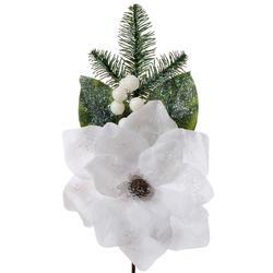 Magnolia z gałązką iglastą - pik (X084)