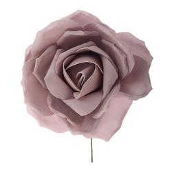 Róża z pianki na piku - średnica 33 cm (K016)