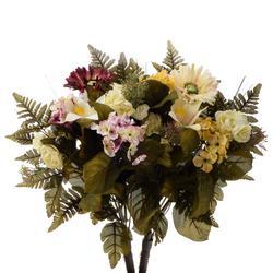 Bukiet z gerberą, lilią i hortensją (U523)