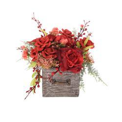 Mała szuflada - kompozycja kwiatowa (NN398)
