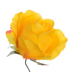Satynowa róża w pąku - główka (W830)