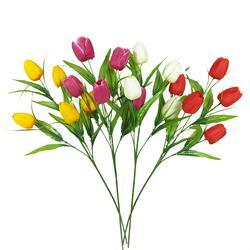 Tulipan sztuczny - gałązka x5 (K172E)