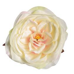 Sztuczna róża rozwinięta - główka (W696)