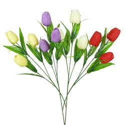 Tulipan - gałązka x3 58 cm (K171E)
