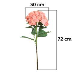 Hortensja gumowana - gałązka 72 cm (GK109)
