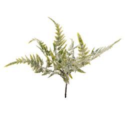 Pik zielony ośnieżony lśniący (R079)