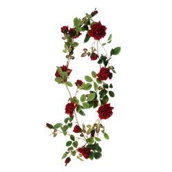 Girlana z różą (B019)