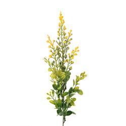Gałązka dekoracyjna z żółtymi akcentami (L831)