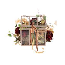 Kwiatowa klatka z różą (NN423)