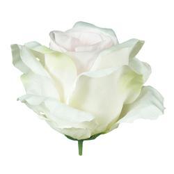 Satynowa róża - główka (W074)