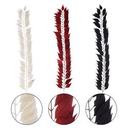 Gałązka dekoracyjna z kolorowych piór (L218)